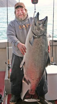 Captain Rick Baker of Fish Kodiak Adventures